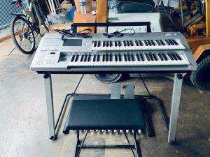 进口日本雅马哈双排键电子琴 DDK-7