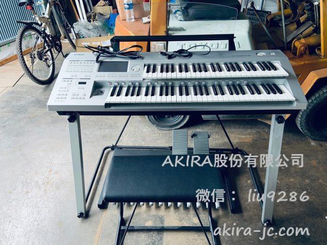 从日本邮寄雅马哈双排键电子琴DDK-7给国内客户