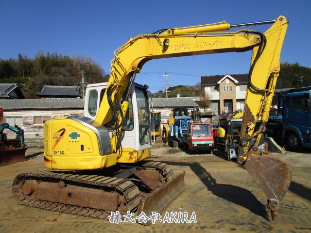 二手挖掘机住友SH75X进货出口【日本二手挖掘机批发销售供应商】