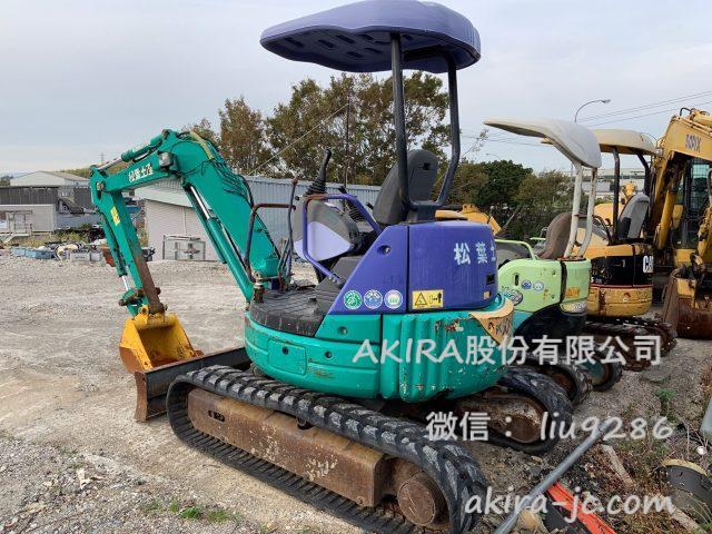 二手小松挖掘机pc30mr3进货【日本二手挖掘机批发销售供应商】