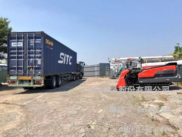 貨櫃批發銷售日本中古農機