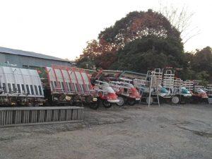 日本进口久保田插秧机