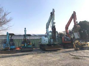 日本进口二手挖掘机