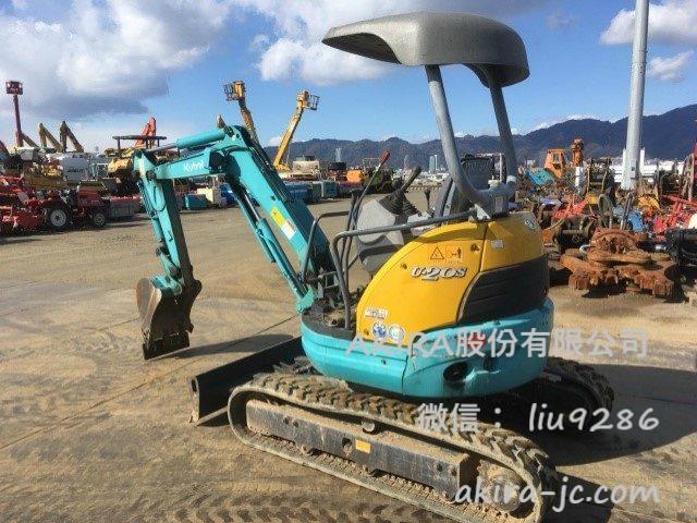 二手久保田微小型挖掘机u-20-3s进货介绍【日本二手微小型挖掘机批发销售供应商】