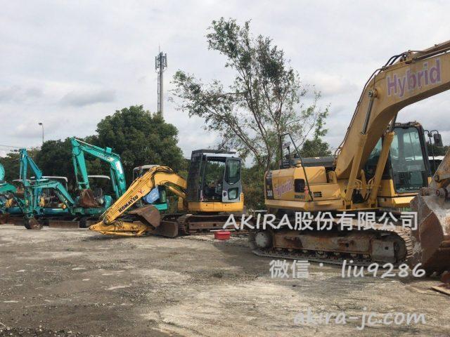 出售:日本挖土機,小松挖土機,神鋼挖掘機,住友鈎機,卡特彼勒挖溝機等