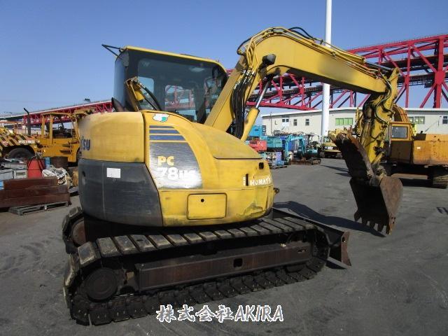 日本二手挖掘机小松PC78US-8进货介绍