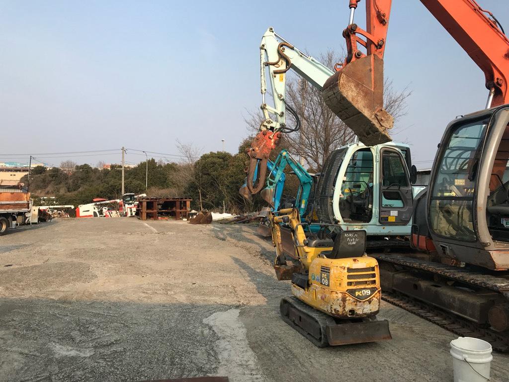 二手小松微小型挖掘机pc09-1c进货介绍【日本二手微小型挖掘机批发销售供应商】