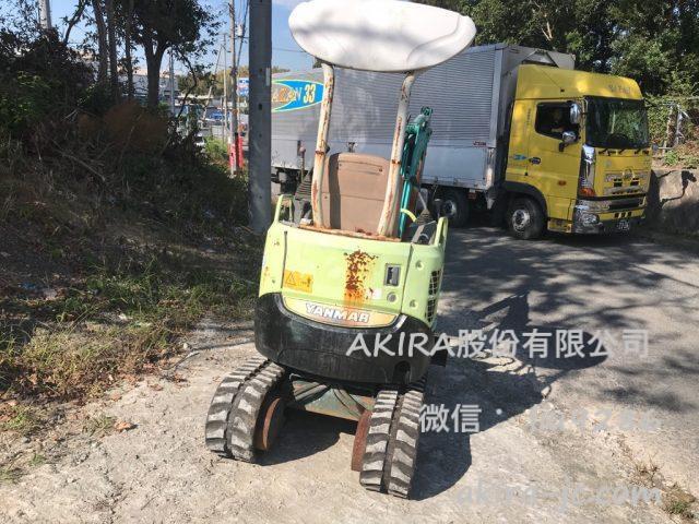 日本二手洋马微挖VIO15-2A进货介绍【日本二手挖沟机批发销售供应商】