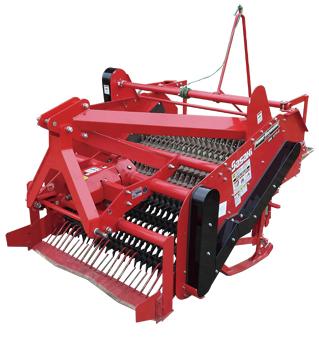 新产品HN1254D 适应25-60马力的大蒜收获机