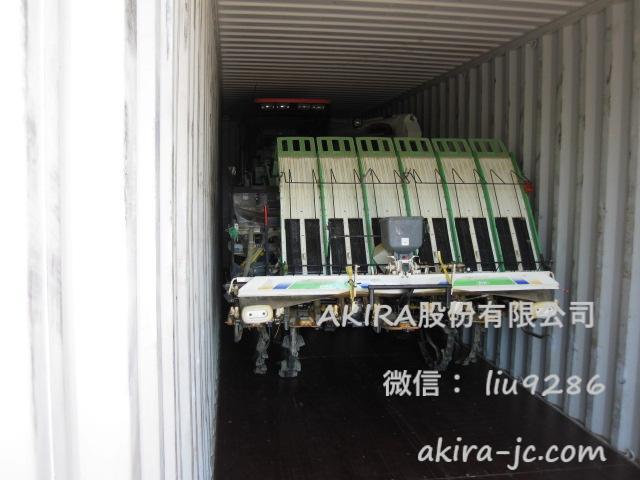日本二手收割机,二手插秧机出口